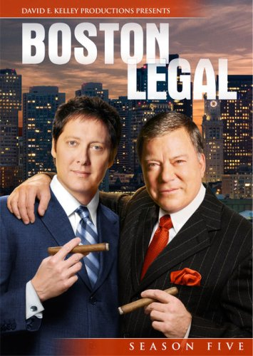 Boston Legal - Season 5 DVD