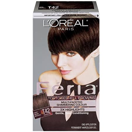 Loreal Feria Hair Color - Smoky Tortoise T42