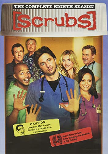 Scrubs: The Complete Eighth Season DVD