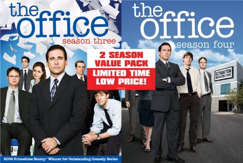 The Office: Season 3/Season 4 Value Pack DVD