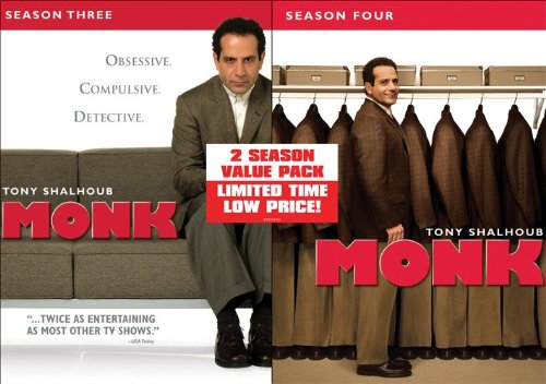 Monk-Season 3/Season 4 Value Pack DVD