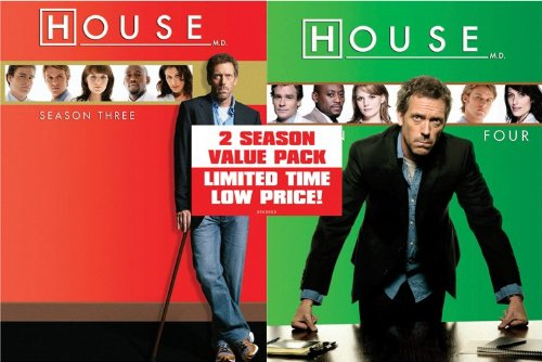 House-Season 3/Season 4 Value Pack DVD