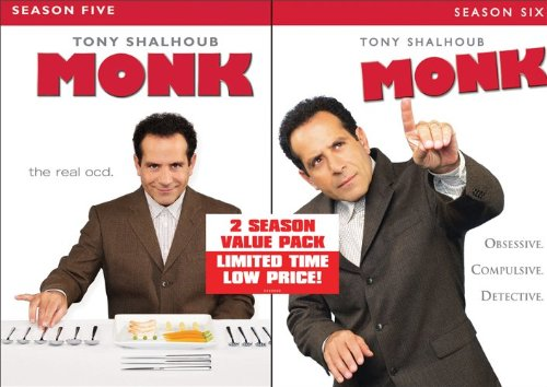 Monk-Season 5/Season 6 Value Pack DVD