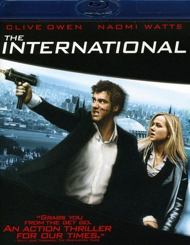 The International [Blu-ray] DVD