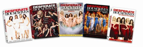 Desperate Housewives: The Complete Seasons 1-5 DVD