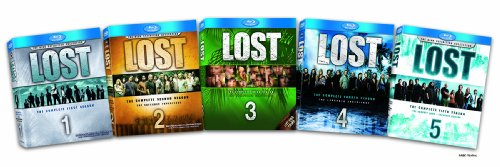 Lost: The Complete Seasons 1-5 [Blu-ray] DVD