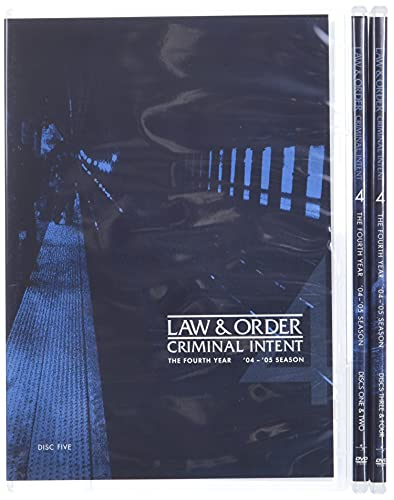Law & Order: Criminal Intent - Season Four DVD