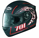 X-Lite X-701 Helm Hazard N-Com, schwarz matt (Flat Black 26), M
