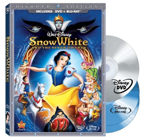 Snow White and the Seven Dwarfs Diamond Edition cove