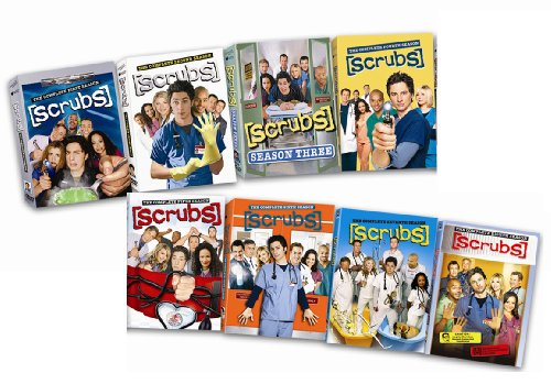 Scrubs: The Complete Seasons 1-8 DVD