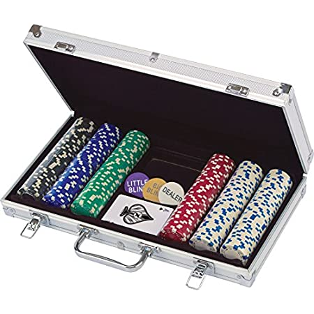 Cardinal 300 115 Gram Poker Chips In Aluminium Case