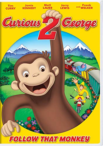 Curious George 2: Follow That Monkey cover