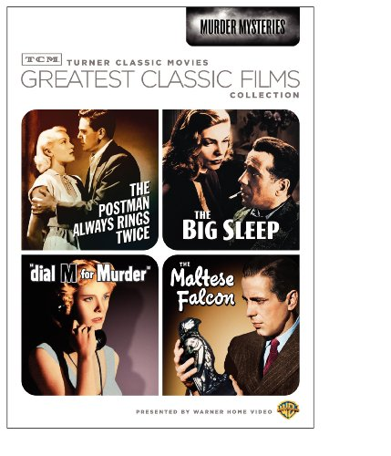 TCM Greatest Classic Films Collection: Murder Mysteries The Maltese Falcon / The Big Sleep / Dial M for Murder / The Postman Always Rings Twice 1946