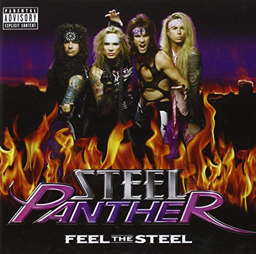 steel panther logo. Steel Panther - Feel the Steel