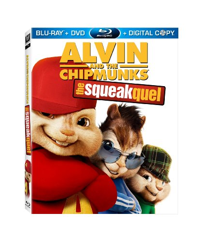 Alvin and the Chipmunks: The Squeakquel [Blu-ray] DVD