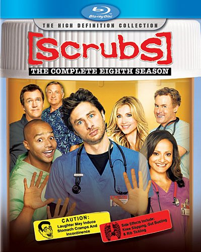Scrubs: The Complete Eighth Season [Blu-ray] DVD