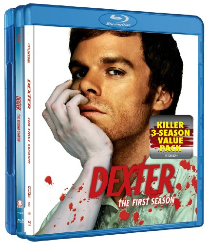 Dexter: Seasons 1-3 [Blu-ray] DVD