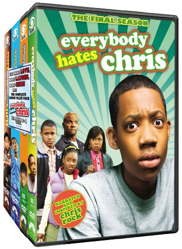 Everybody Hates Chris: Seasons 1-4 DVD