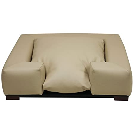 Furniture Quality Square Dog Bed Tan