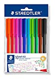 Product Image of Staedtler Medium Rainbow Ballpoint Pens, Assorted, Pack of...