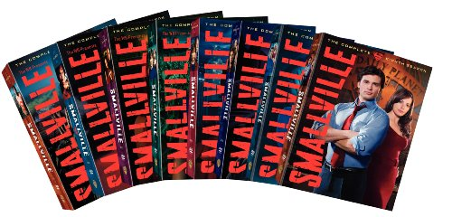 Smallville: The Complete Seasons 1-8 DVD