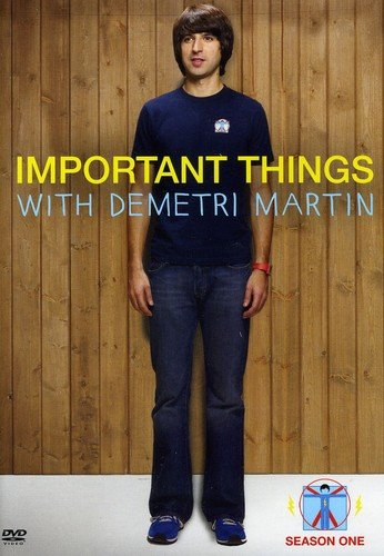 Important Things With Demitri Martin: Season One DVD