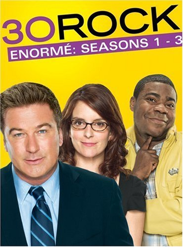 30 Rock: Seasons 1-3 DVD