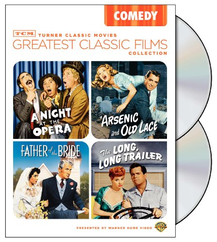 TCM Greatest Classic Films Collection: Comedy Arsenic and Old Lace / A Night at the Opera / The Long Long Trailer / Father of the Bride 1950