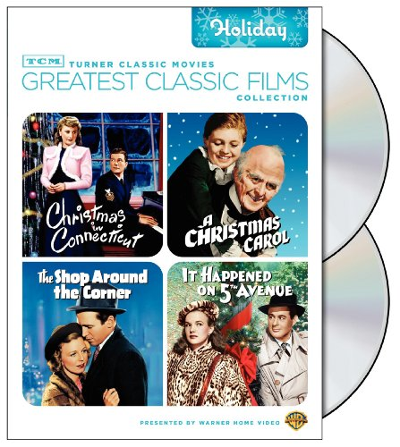 TCM Greatest Classic Films Collection: Holiday Christmas in Connecticut / A Christmas Carol 1938 / The Shop Around the Corner / It Happened on 5th Avenue
