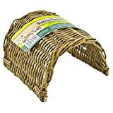 Ware Hand Woven Willow Twig Tunnel Small Pet Hideout, Large
