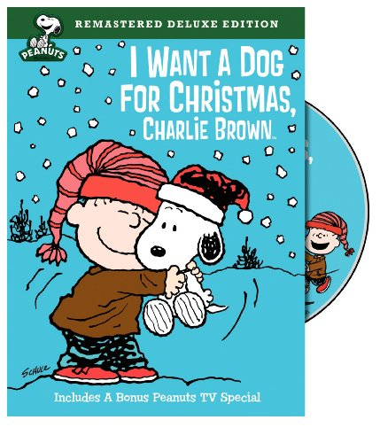 I Want a Dog for Christmas, Charlie Brown cover