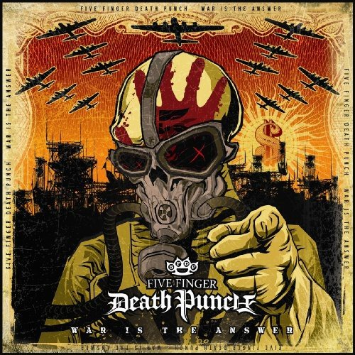 CD-Cover: Five Finger Death Punch - War Is The Answer