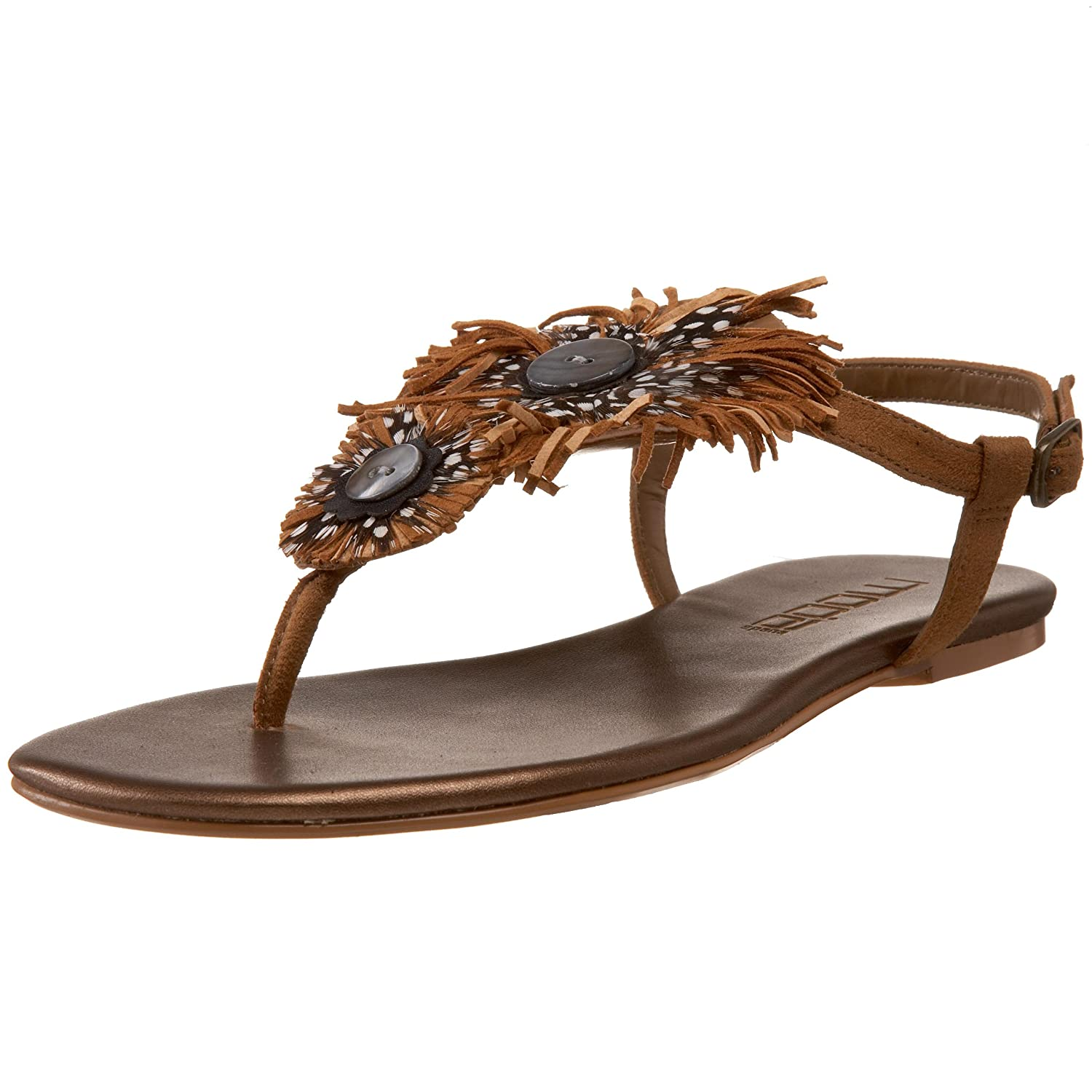 Moda Spana - Women's Jerash Sandal  :  feather sandal moda spana jerash sandal feather thong sandal