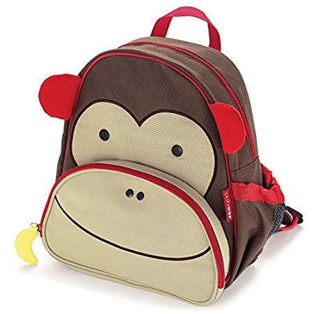 Skip Hop Zoo Pack Little Kid Backpack Monkey