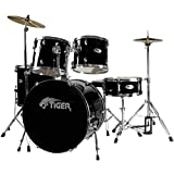 Tiger DKT7-BK Tiger Beginner Schlagzeug Set