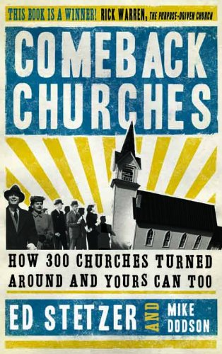 Comeback Churches, by Ed Stetzer