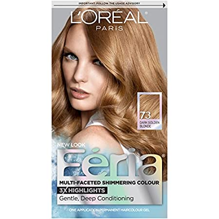 Loreal Feria Hair Color - Golden Sunset 73. used For: Hair Color. hair Type: