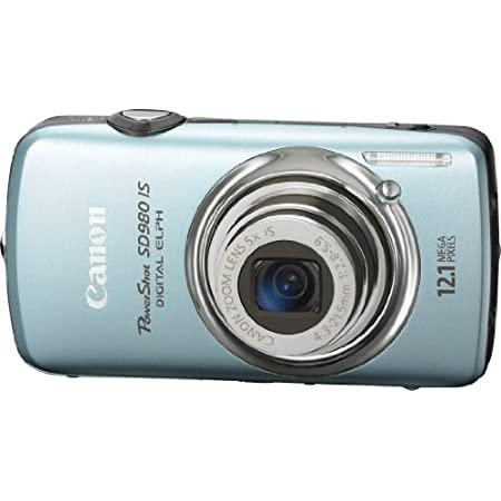 Canon Powershot Sd980 Is 12.1mp Digital Camera With Touch Screen