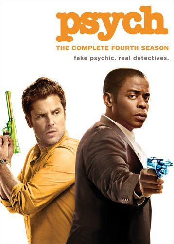 Psych: The Complete Fourth Season DVD