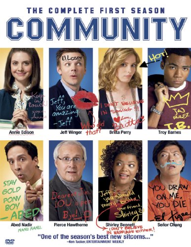 Community: The Complete First Season DVD