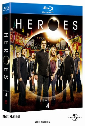 Heroes: Season Four [Blu-ray] DVD