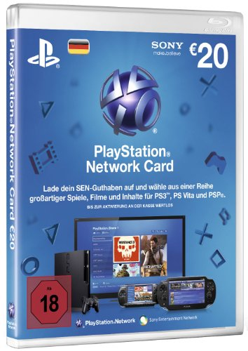 PlayStation Network Card (20 Euro) - Deutschland