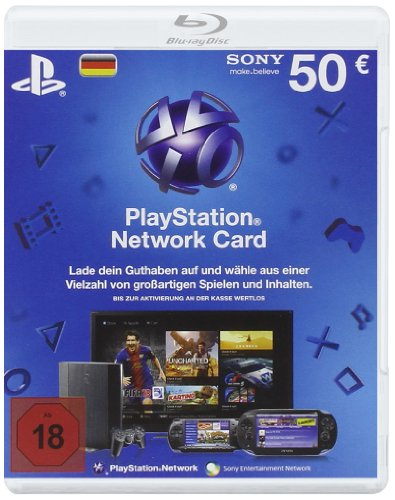PlayStation Network Card (50 Euro) - Deutschland