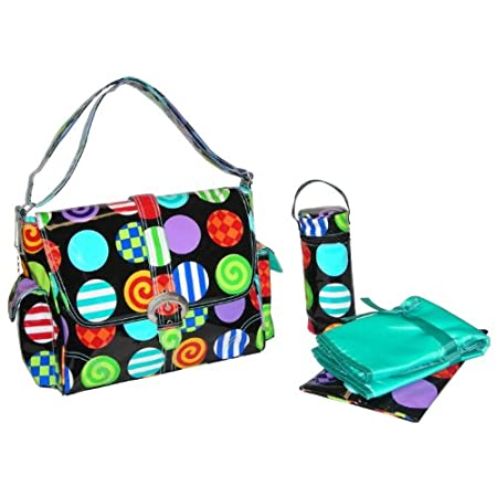 Kalencom Rock & Roll Buckle Diaper Bag Multi For Baby