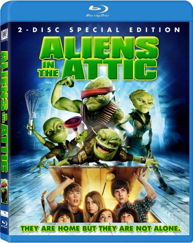 Aliens in the Attic [Blu-ray] DVD