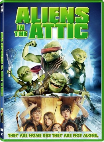 Aliens in the Attic DVD