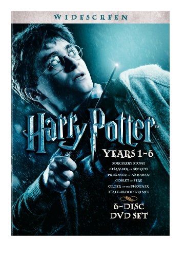 Harry Potter Years 1-6 Gift Set Widescreen Edition