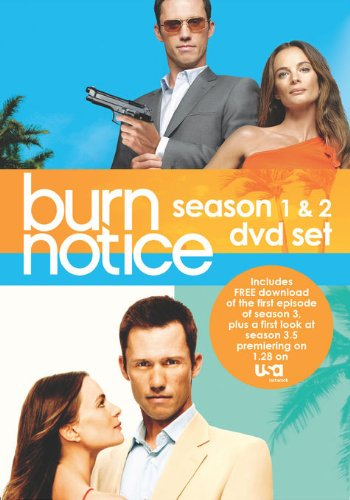 Burn Notice: Season 1 & 2 Set DVD