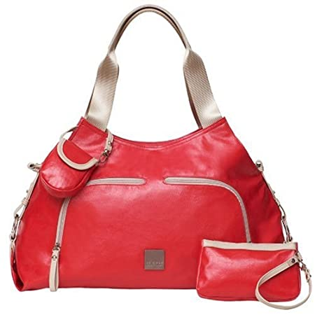Jj Cole Technique Diaper Bag – Red