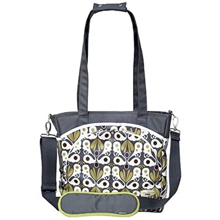 Jj Cole Mode Diaper Bag- Grey Flora